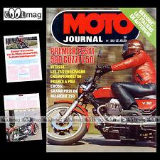 MOTO JOURNAL N°313 CROSS GP BORGLOON GENNADY MOISSEEV GUZZI V50 BSA STORY 1977