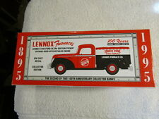 Spec Cast Lennox Furnaces 1940 Ford Ultra Edition Pickup Truck Collector Bank
