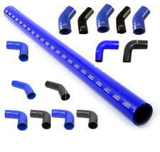1 Metre Straights 45 & 90 Degree Silicone Hose Bend Pipe Elbow Intercooler