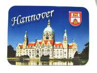 Hannover Relief 3D Optik unebener Magnet Germany Souvenir 9 cm