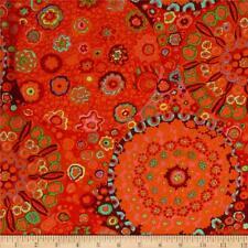 Fat Quarter Kaffe Fassett Millifiore - Tomato - Cotton Quilting Fabrics