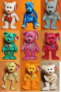 Ty Beanie Babies Decade Sammlungsauflösung gut erhalten