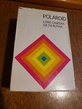 BOX ONLY-  Polaroid Land Camera SX-70 Alpha
