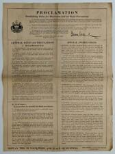 WWII 1941 BROADSIDE, PHILADELPHIA PA RULES FOR BLACK OUT & AIR RAID PRECAUTION