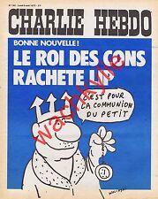 Charlie Hebdo n°142 du 06/08/1973 montre LIP Wolinski Afrique Bretagne Reiser