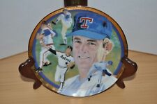 Nolan Ryan Strike Out The Hamilton Collection Plate Astros Rangers