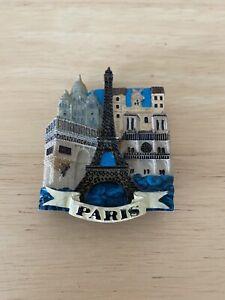 Paris France Fridge Magnet 3D Resin