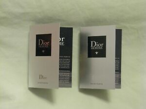 Dior 'Homme' Eau de Toilette EDT Mens Spray Vial Set of 2 NEW