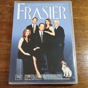 Frasier The Complete Fourth Season 4 DVD R4 LIKE NEW FREE POST