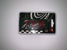 Red 3D TDI emblem badge rear boot badge VW Golf Polo Transporter Caddy Passat