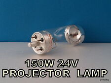 150W 24V  PROJECTOR LAMP 9208 G17q TUNGSRAM  NOS  IN ORIGINAL BOX RARE