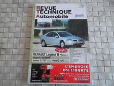 REVUE TECHNIQUE RENAULT LAGUNA II PHASE 2 DEPUIS 03/2005 ESSENCE et DIESEL