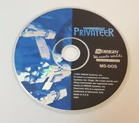 Wing Commander Privateer PC CD-Rom 1993 ms-dos space combat simulation game