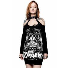 Killstar X Rob Zombie Gothic Punk Minikleid Bodycon Kleid - Triumph
