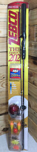 "Zebco 202 5'6"" 2 Piece Med-light Fishing With Bonus Tackle Easy To Use Reel NIB"