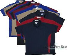 Used Polo Shirts Uniform Work Shirts Aramark WearGuard Light Weight Breathable