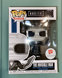 Universal Monsters The Invisible Man Funko Pop! #608 Walgreens Exclusive In Hand