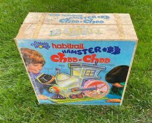 Vintage Living Wold Habitrail Hamster Choo Choo train 1975 open box
