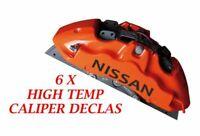 Nissan Brake Caliper Decal   sticker