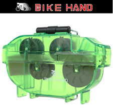 Bike Hand YC-791 Bike Chain Scrubber 2 Stage Green Cleaning Tool