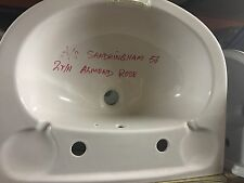 Armitage Shanks Sandringham Basin Almond Rose Discontinued Bathrooms