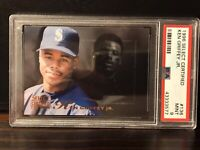 KEN GRIFFEY JR 1996 SELECT CERTIFIED  #136 PSA HOF Seattle Mariners PSA 9