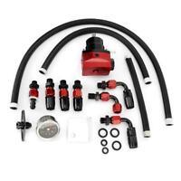 Kit regolatore pressione carburante auto universale regolabile con manometro
