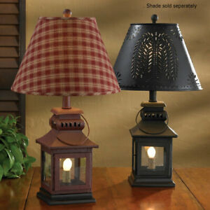 Red Iron Lantern Lamp