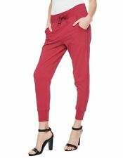NEW TRUE RELIGION $128 RED BANDED SKINNY SWEATPANTS PANTS SZ S SMALL