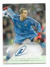 2015-16 TOPPS UEFA CHAMPIONS LEAGUE Autograph Auto card :Manuel Neuer