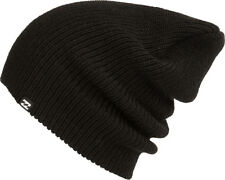 BILLABONG MENS HAT.LIVINGSTONE RELAXED LOOSE FIT WARM BLACK KNIT BEANIE 7W 3 19