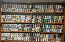 Vintage Beer Can Collection Lot of 240 Cans 10 Cases Pull Tabs