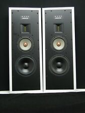 Meridian Audio A330 IN/WALL 2 Way Speakers (White Metal Cabinets) (Pair)