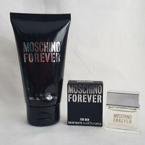 Moschino Forever Lot - Bath and Shower Gel 50ml Eau de Toilette 4.5ml