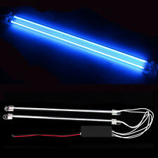 "2Pcs 12"" Car Blue Undercar Underbody Neon Kit Lights CCFL Cold Cathode Tube"