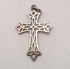 James Avery Sterling Filigree Cross Pendant