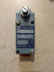 NEW SQUARE D CLASS 9007 TYPE B54C SERIES B LEVER TYPE LIMIT SWITCH
