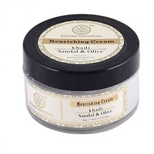 Khadi Natural Sandal & Olive Face Nourishing Cream With Sheabutter, 50g