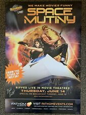 RiffTrax Live: Space Mutiny - Autographed Poster!
