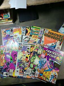 Lot of 13 miscellaneous Marvel Comics, including X-MEN, Defenders, FF,Avengers