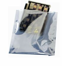 """More details for esd 6x10"""" anti-static metallized shielding bags open top - electronics x 100"""