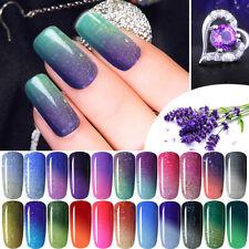 Gellack Farbwechselnd UV Gel Nails Nagellack Soak Off Farbwechsel Color Changing