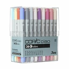 """NEW Copic Ciao Artist Markers 36 colors C set"""" Manga Anime Comic from Japan F/S"""