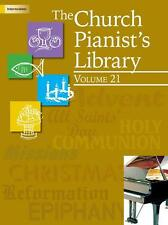 THE CHURCH PIANIST'S LIBRARY VOLUME 21-INTERMEDIATE PIANO MUSIC BOOK-NEW ON SALE