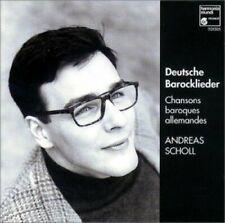 Andreas Scholl Deutsche Barocklieder-Chansons baroques allemandes [CD]