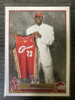 2003-04 Topps LeBron James Rookie RC #221 Cavaliers Cavs Lakers Rookie Card