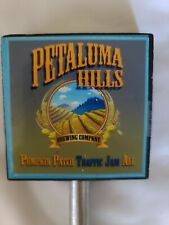 Petaluma Hills Brewing Pumpkin Patch Traffic Jam Ale tap handle Sonoma County