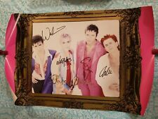 Duran Duran Signed Poster **1993** By 4 Members ** Warren ** Cuccurullo **