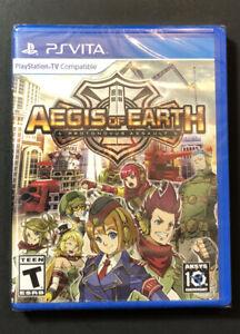 Aegis of Earth Protonovus Assault [ PS TV Compatible ] (PS VITA) NEW