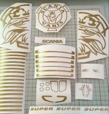 Tamiya 1/14 Scania Truck Graphics Vinyl *Any Colour*